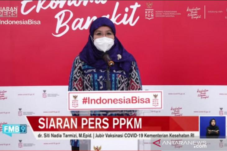 Kemenkes: Jawa-Bali masih level 4 pandemi COVID-19