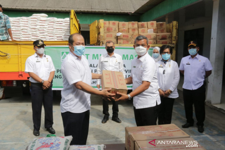 Pemkot Medan terima CSR  bahan pokok di masa PPKM