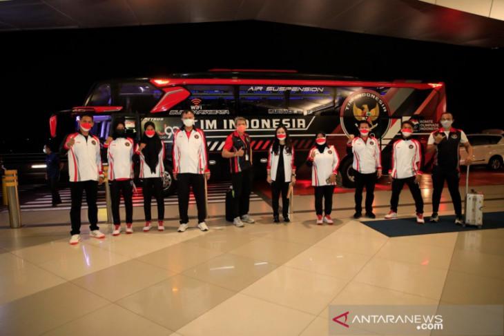 Rombongan kedua kontingen Indonesia Olimpiade bertolak ke Tokyo