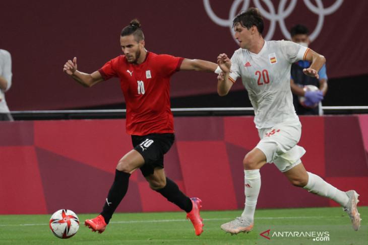 Spanyol diimbangi Mesir di laga pembukaan Grup C Olimpiade 2020