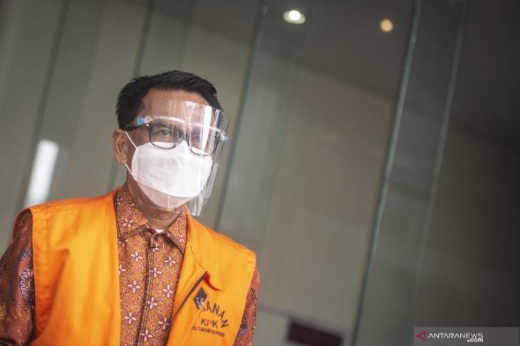 Nurdin Abdullah didakwa terima suap dan gratifikasi Rp12,812 miliar