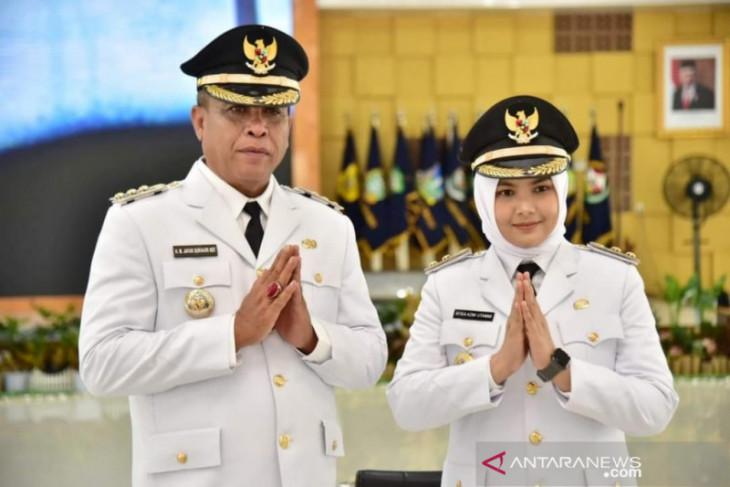 Sukhairi - Atika dilantik menjadi Bupati-Wakil Bupati Madina