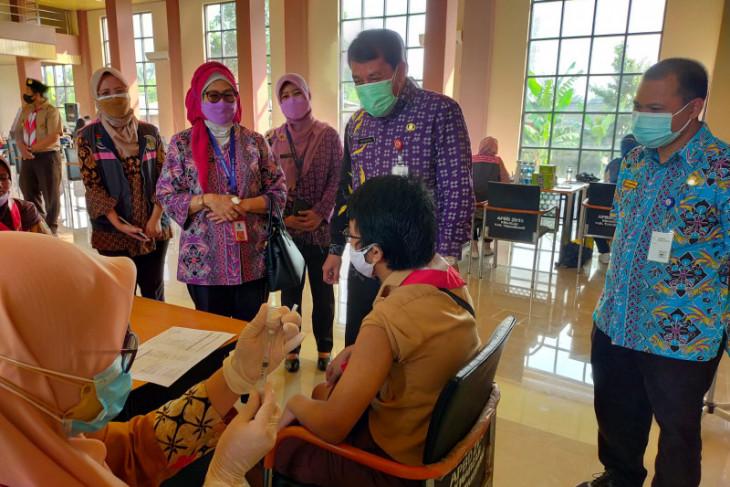 500  Pramuka di Tangerang Ikuti vaksin massal