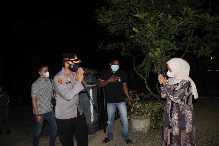 Kapolres Langkat monitoring Desa Bukit Dinding Wampu