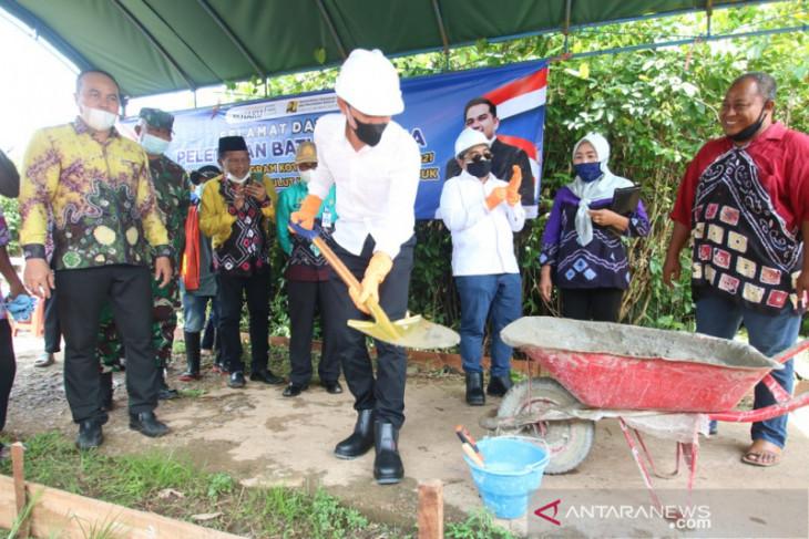 Bupati Saidi canangkan program KOTAKU di Sungai Lulut