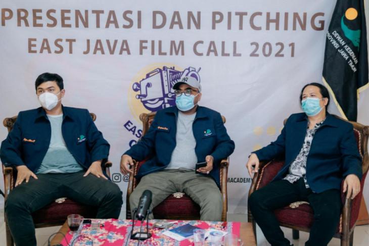 Lima proposal terpilih dalam forum presentasi dan pitching East Java Film Call 2021