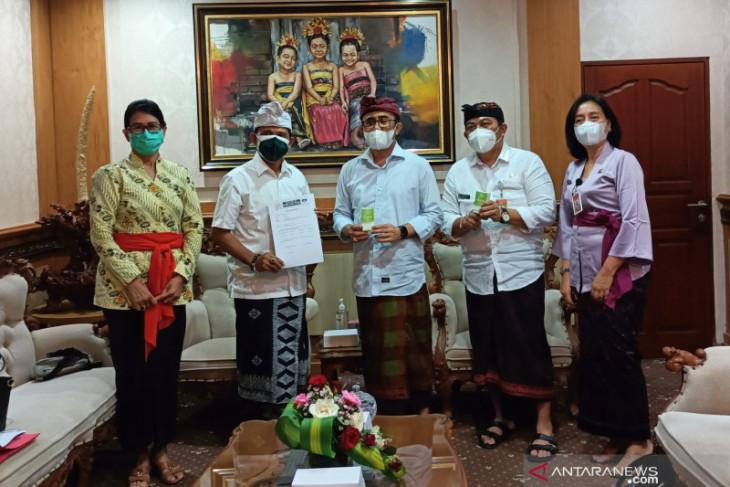 Pemkot Denpasar terima bantuan suplemen kesehatan dari PDDI Bali