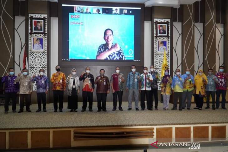Prof Suhono Harso beri masukan untuk kemajuan smart city Banjarmasin