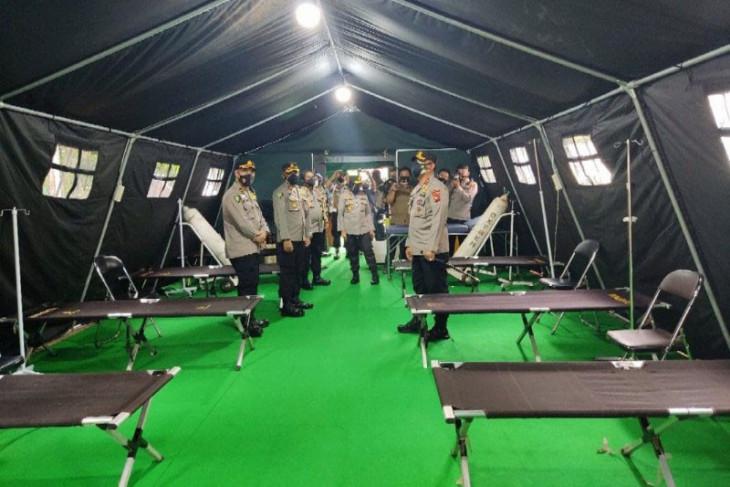 Polda siapkan IGD Lapangan untuk tangani pasien COVID-19 di Palangka Raya