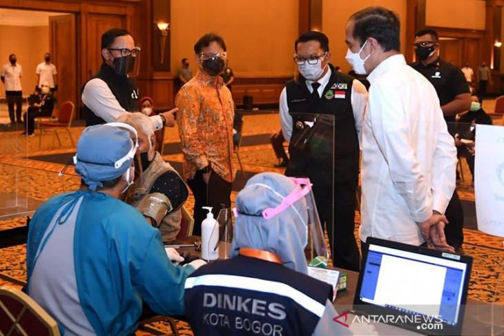 Memacu langkah tuntaskan vaksinasi COVID-19 di Kota Bogor