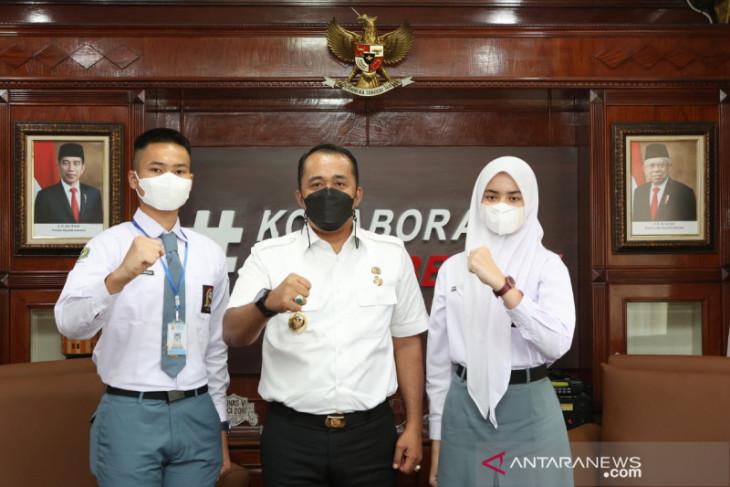 2 siswa SMA terpilih calon Paskibraka, Wakil Wali Kota Medan apresiasi