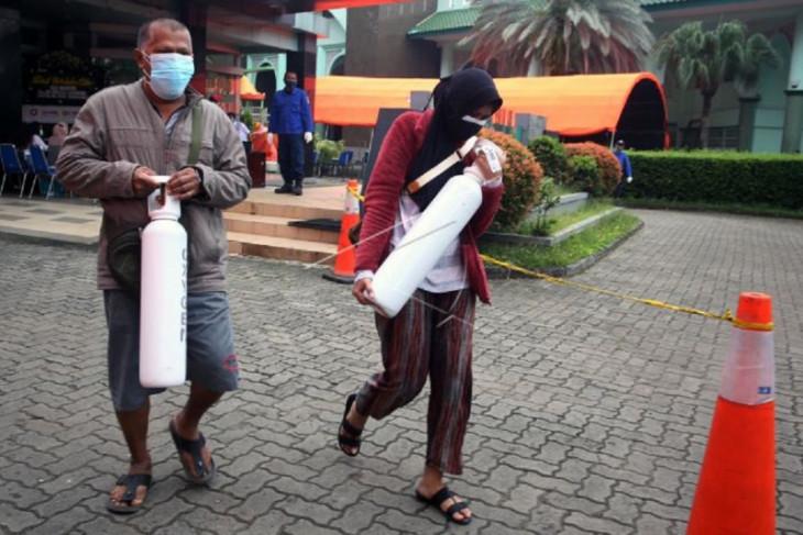 Pemkot Tangerang perpanjang layanan pengisian tabung oksigen gratis 1m3