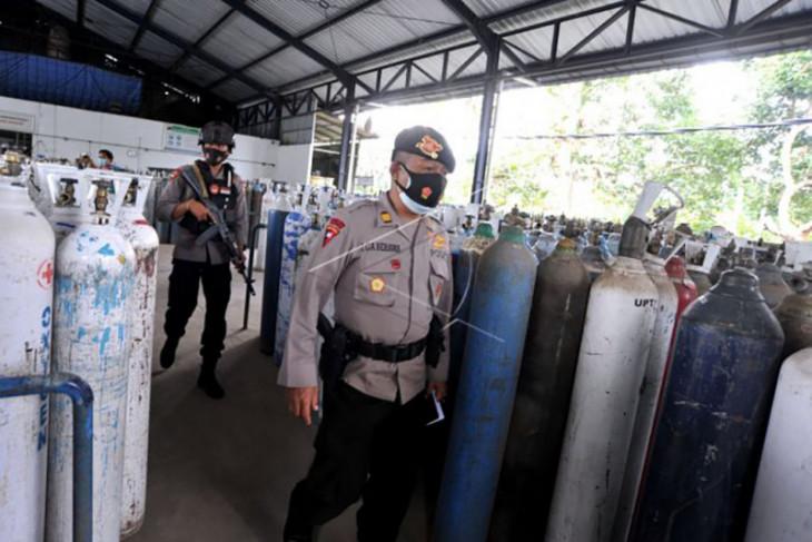 Polisi awasi distribusi oksigen