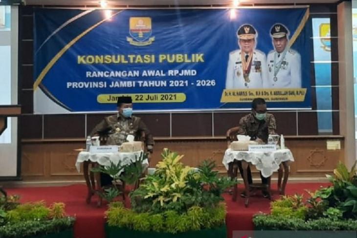 Provinsi Jambi targetkan akhir tahun 2021 RPJMD disahkan