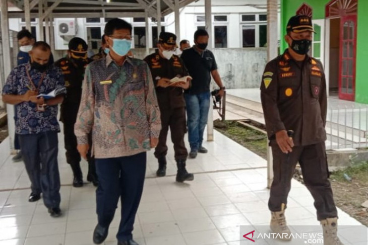 Kejaksaan bersama Pemkot Padangsidimpuan pastikan penanganan COVID-19 terkendali
