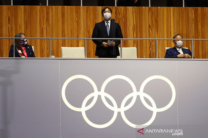 Kaisar Jepang resmi buka Olimpiade Tokyo 2020