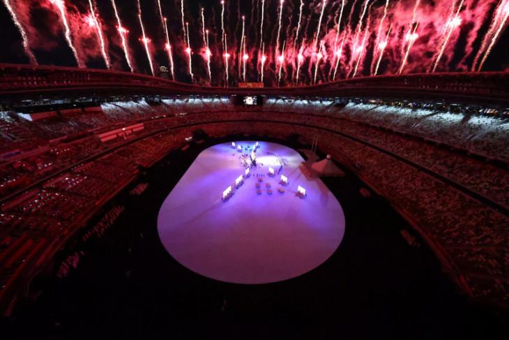Pembukaan Olimpiade, dari