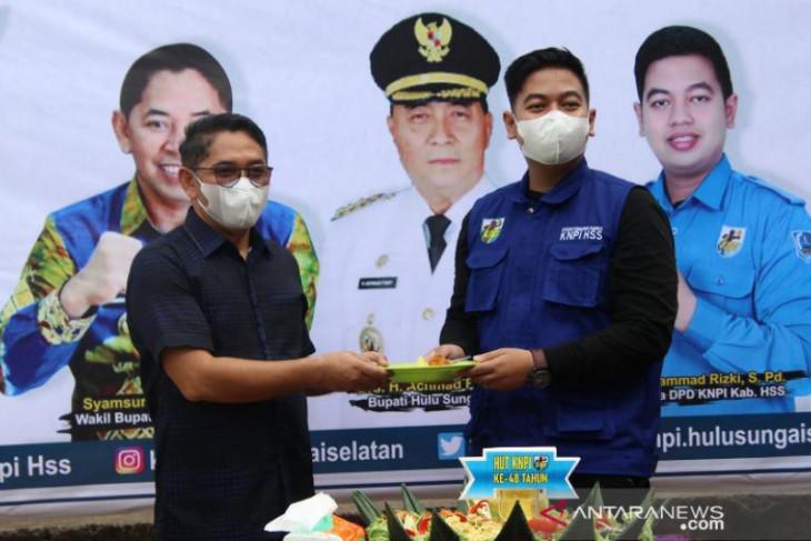 KNPI HSS luncurkan program JIKIN Pemuda