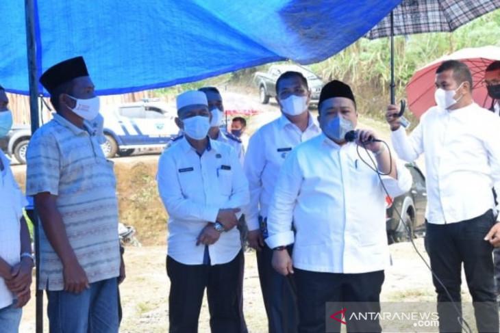 Bupati minta warga rawat berbagai infrastruktur yang dibangun TNI melalui TMMD