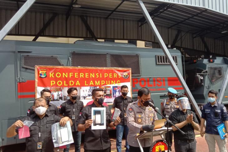 Polda Lampung tangkap oknum guru sebar video hoaks