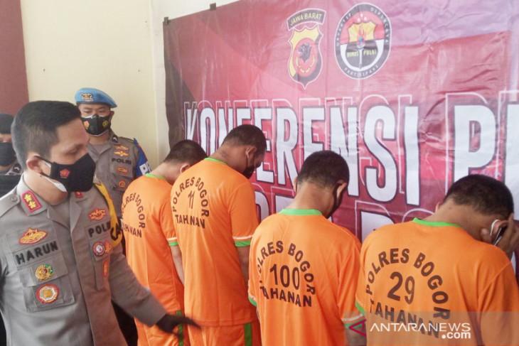 Polres Bogor tangkap dua komplotan