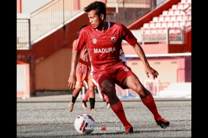 Madura United pastikan Zulfiandi  prioritas lini tengahnya