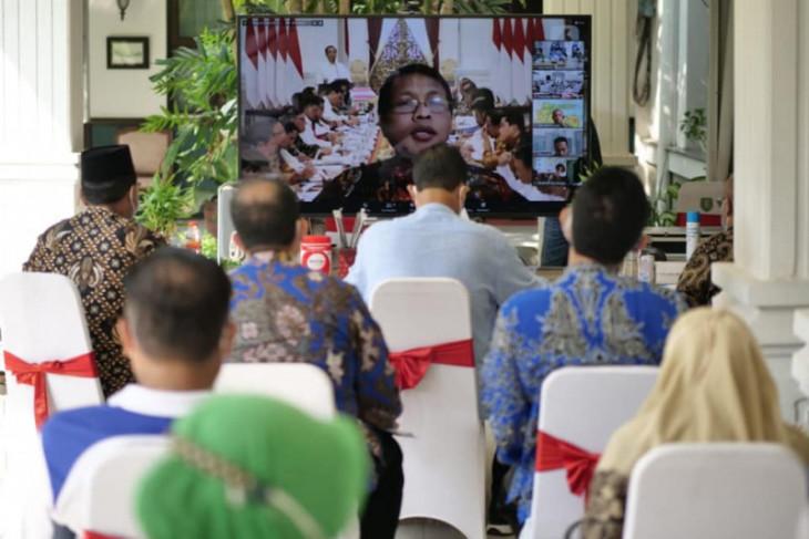 Pemkot Madiun laporkan capaian tata kelola pemerintahan kepada KPK