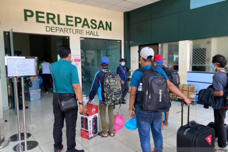 RI Consulate in Tawau sends home 50 Indonesians from Malaysia