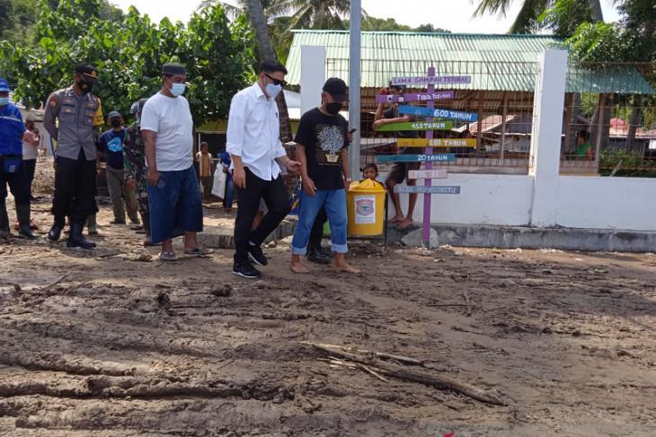 Bupati Hamim tinjau lokasi banjir di Kabila Bone