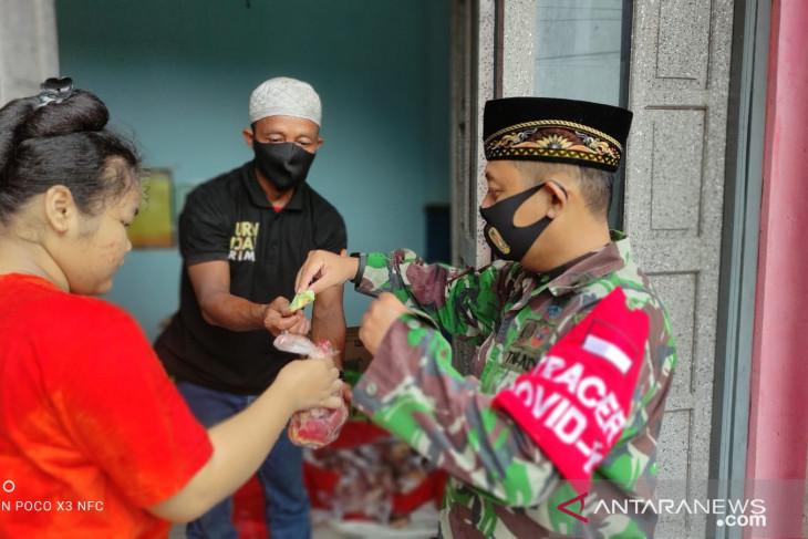 Yayasan Posko Satu Jiwa salurkan daging kurban ke masyarakat miskin