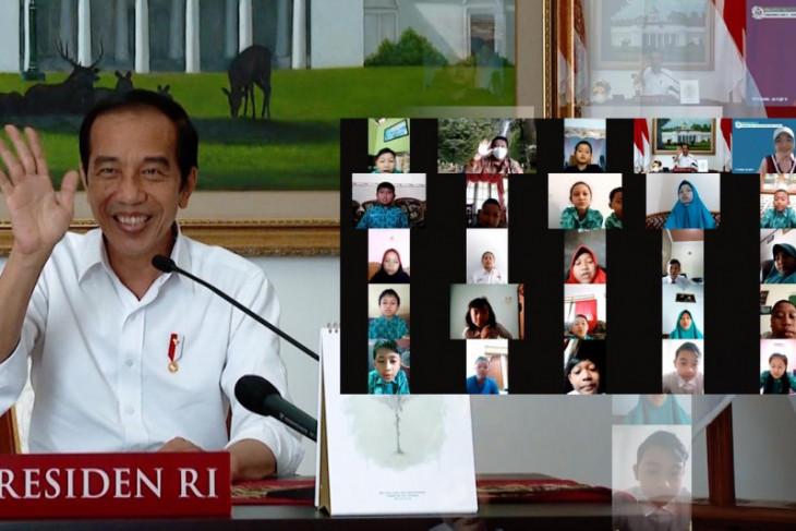 Ini jawaban Jokowi saat ditanya anak-anak tentang tugas sebagai presiden