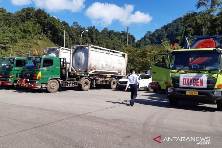 250 ton oksigen dari Sarawak akan dikawal petugas hingga Pontianak secara bertahap