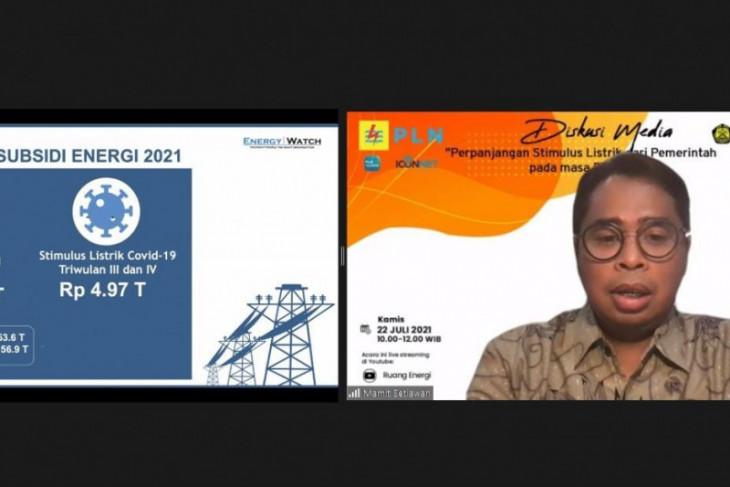 Stimulus listrik upaya pemerintah bantu masyarakat di tengah pandemi