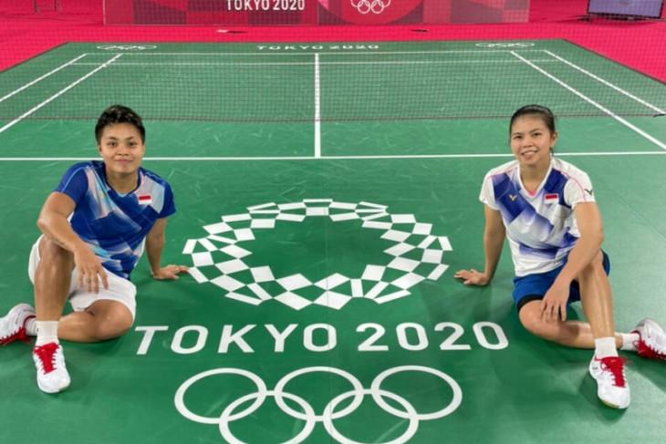 Olimpiade Tokyo, Greysia/Apriyani petik menang di laga pembuka