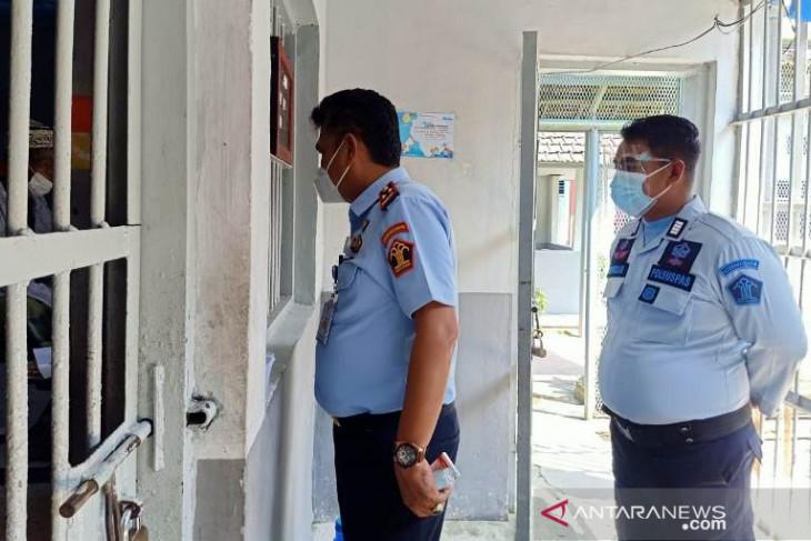 119 WBP dan tujuh petugas lapas Tanjung Pandan positif COVID-19