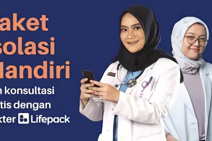 Lifepack beri kemudahan pasien isolasi mandiri