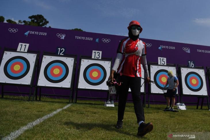 Olimpiade Tokyo, kepercayaan diri kunci kemenangan tim panahan Indonesia atas AS