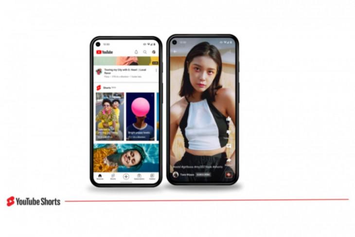 YouTube Shorts resmi rilis di  Indonesia