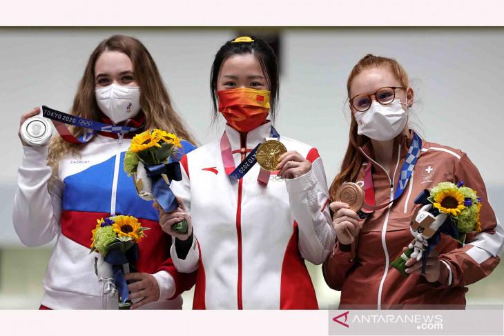 Olimpiade Tokyo : Indonesia peringkat 19 klasemen sementara perolehan medali