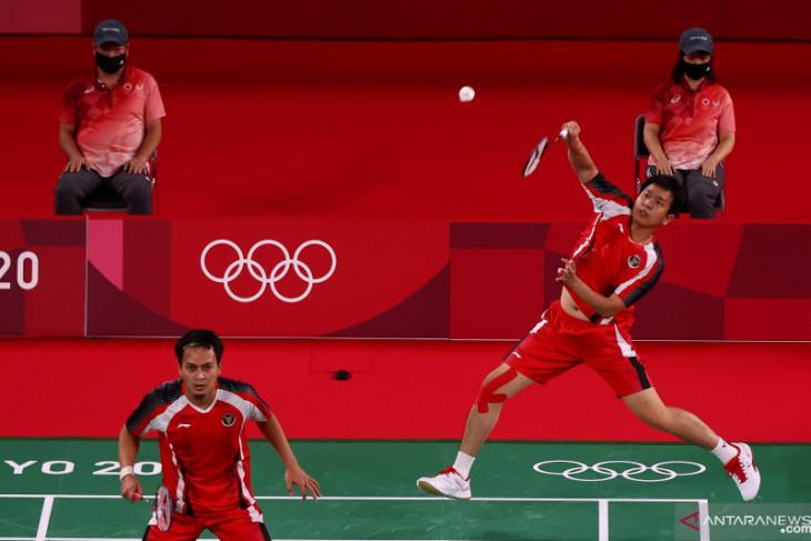 Olimpiade Tokyo, The Daddies lolos dari tekanan Aaron/Soh di laga kedua