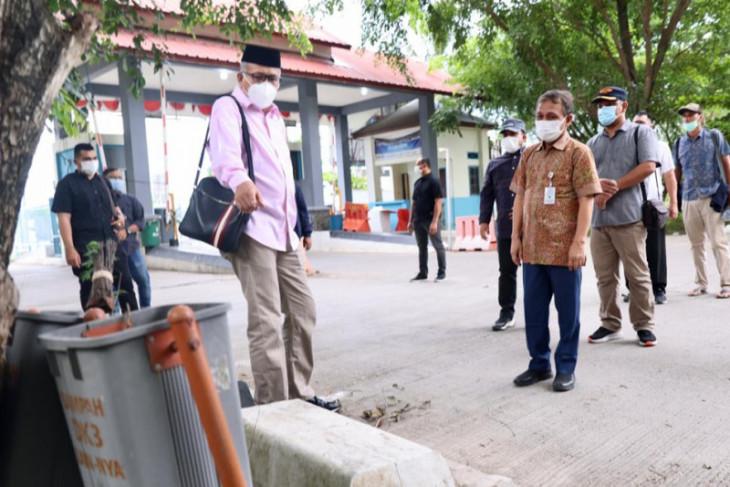 Tinjau pelabuhan Ulee Lheu, ini Peringatan Gubernur Aceh