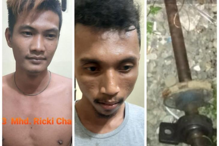 Polsek Binjai Timur amankan dua pelaku pencurian