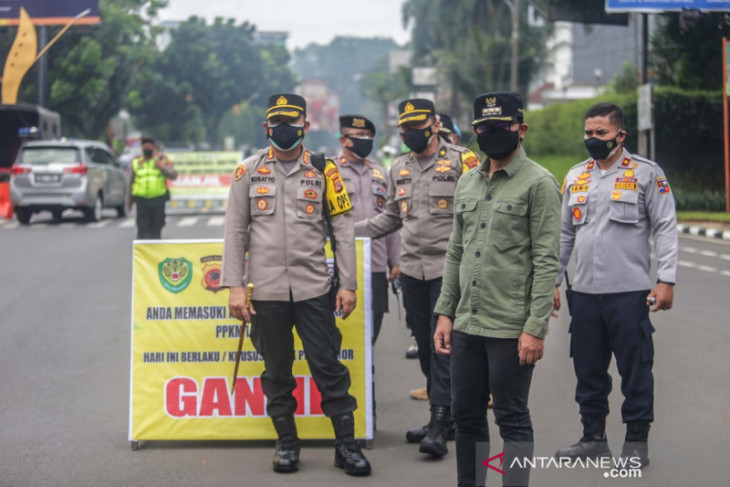 Ganjil-genap di Kota Bogor untuk turunkan mobilitas masyarakat sampai 50 persen