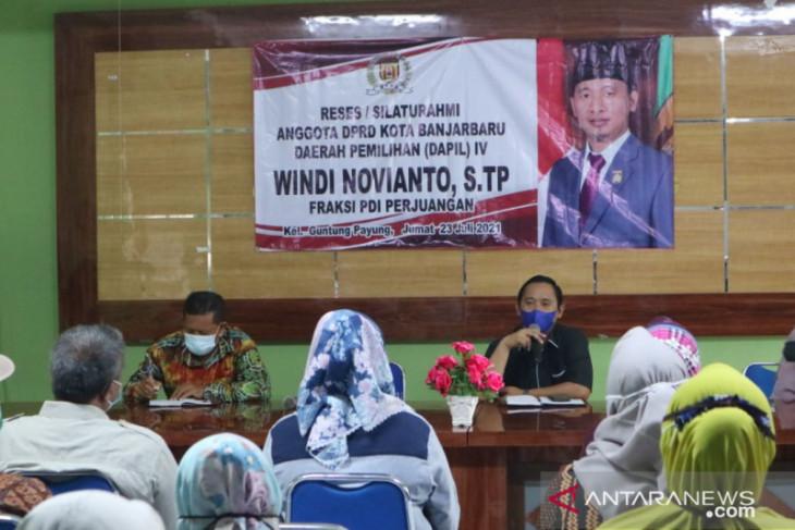 Windi Novianto serap aspirasi warga Guntung Payung
