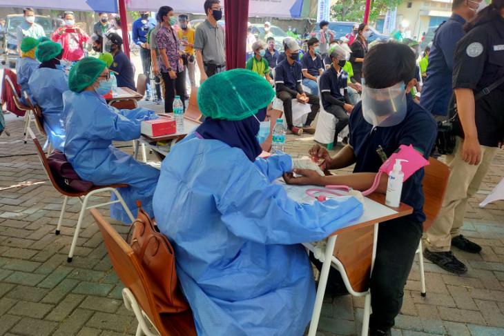 BPJamsostek dukung percepatan vaksinasi COVID-19 pekerja.