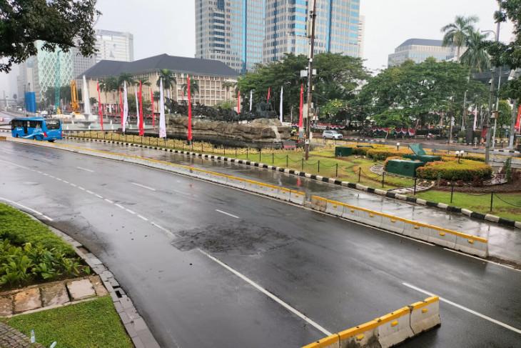 Polisi: Ojek daring dan ormas tidak ikut demo di depan Istana Negara