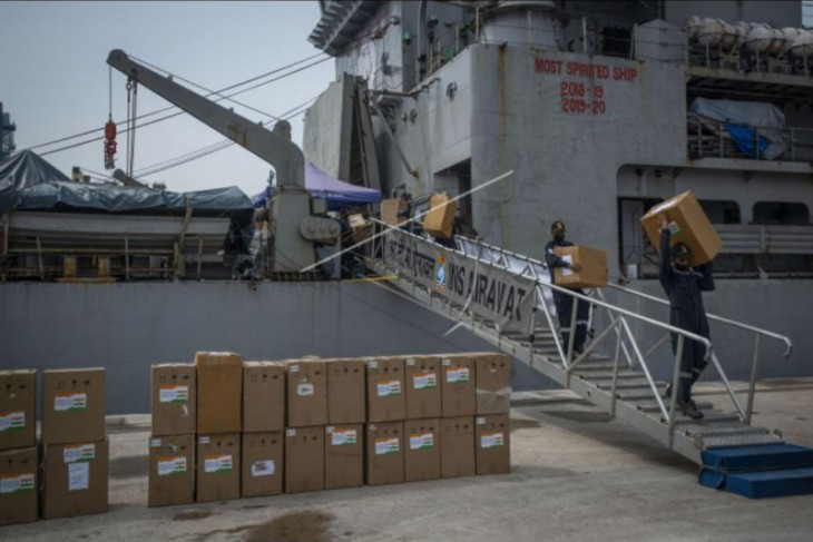 India beri bantuan ke Indonesia tangani COVID-19