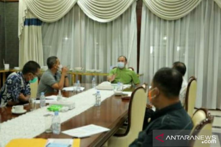 Gubernur dan Forkopimda gelar rapat terbatas bahas PPKM Level 4