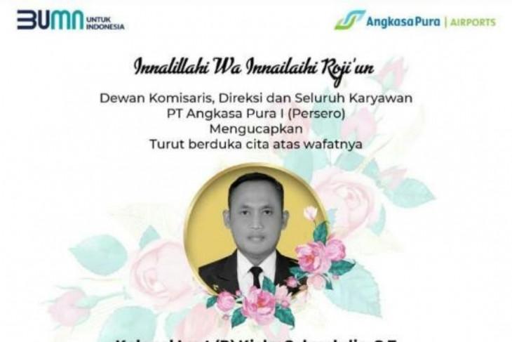 GM Angkasa Pura I Juanda meninggal dunia