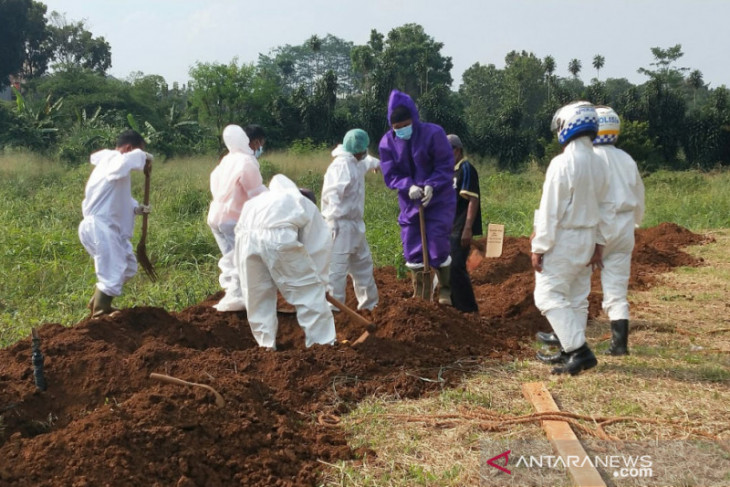 Tim Pemulasaraan telah tangani 98 jenazah pasien COVID-19 di Kota Bogor